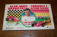 Board Game: Alan Jones Formula 1 Grand Prix Racing Game