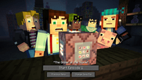 Video Game: Minecraft: Story Mode - Season 1, Episode 1: The Order of the Stone