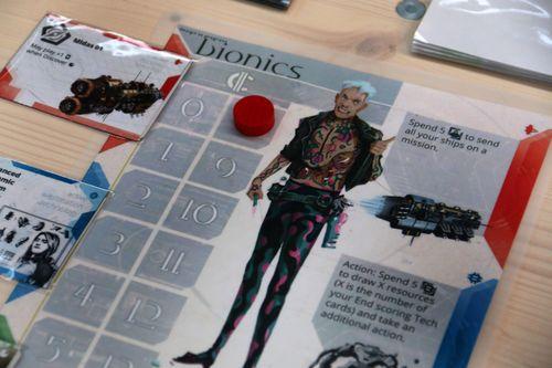 Board Game: Alien Artifacts