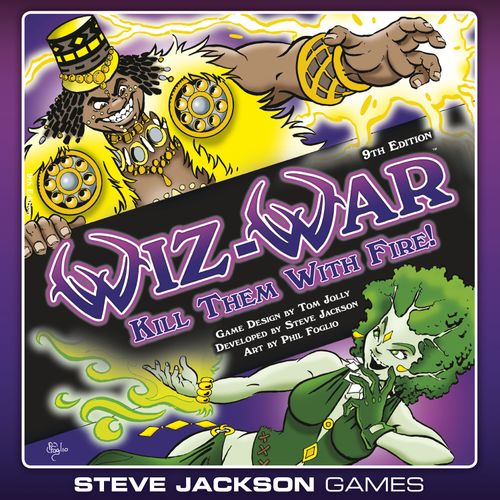 Board Game: Wiz-War (9th Edition)