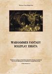 RPG Item: Warhammer Fantasy Roleplay Errata