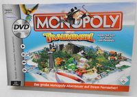 Board Game: Monopoly: Tropical Tycoon DVD Game