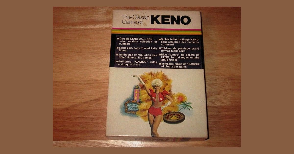 Keno Board Game Boardgamegeek