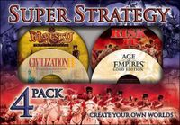 Video Game Compilation: Super Strategy 4 Pack