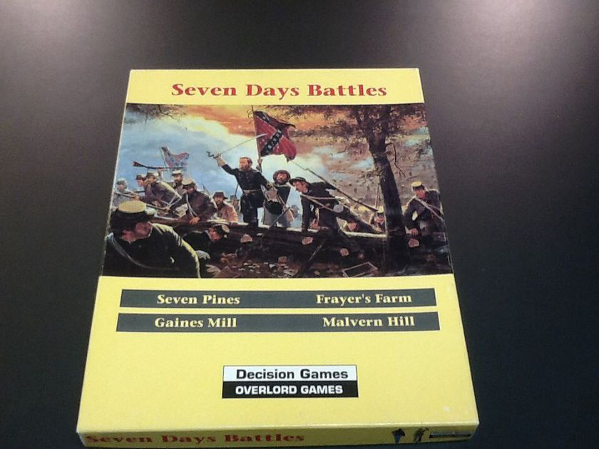 the battle of seven pines