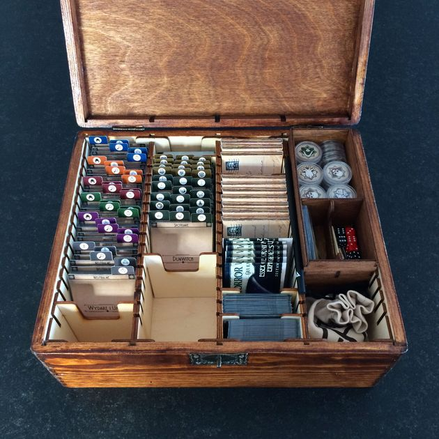 Arkham horror the card game image boardgamegeek for Board game storage solutions