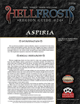 RPG Item: Hellfrost Region Guide #24: Aspiria