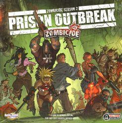 Zombicide Season 2: Prison Outbreak Cover Artwork