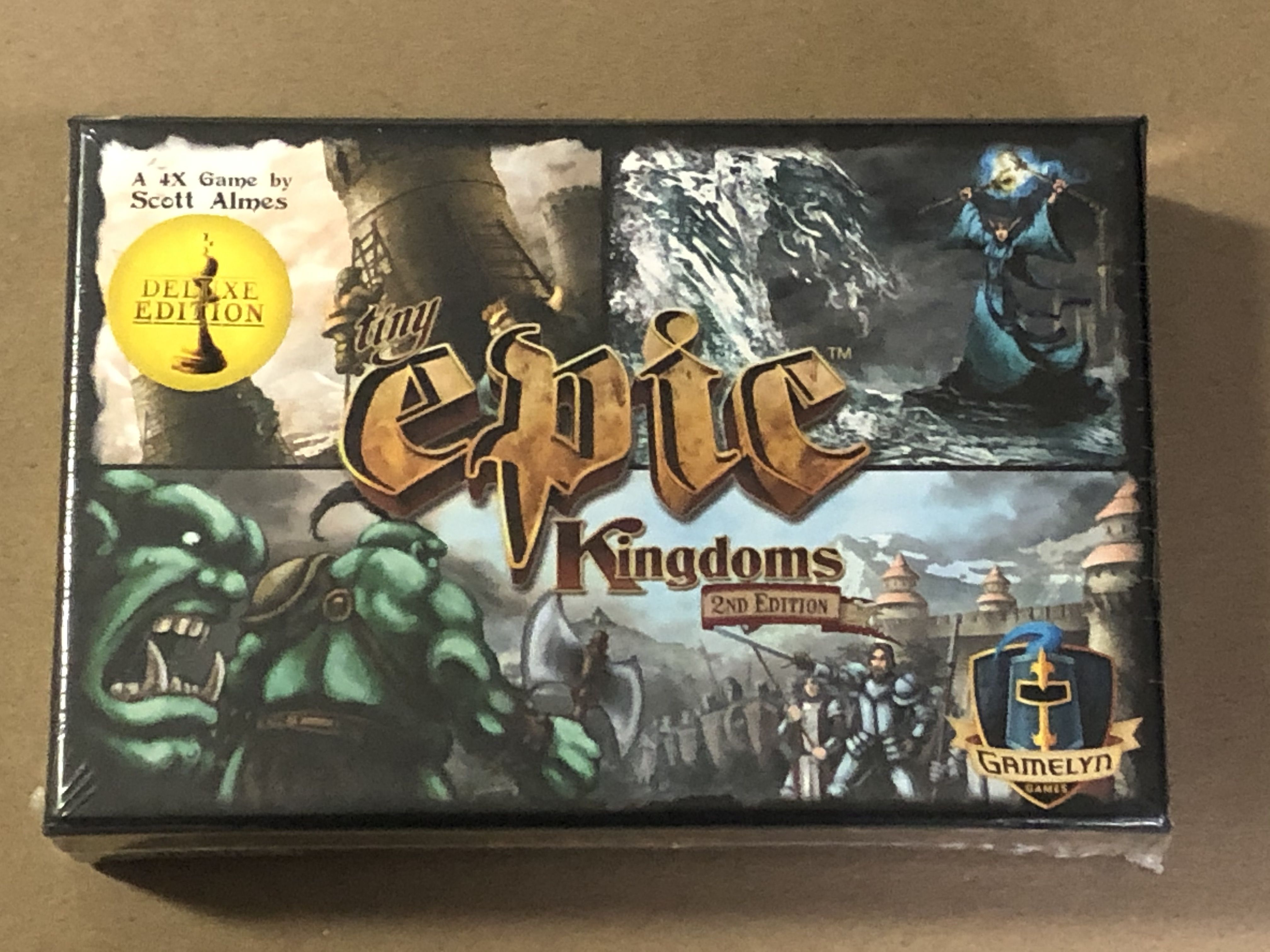Tiny Epic Kingdoms: 2nd Edition – Deluxe Edition