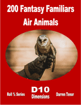 RPG Item: 200 Fantasy Familiars Air Animals