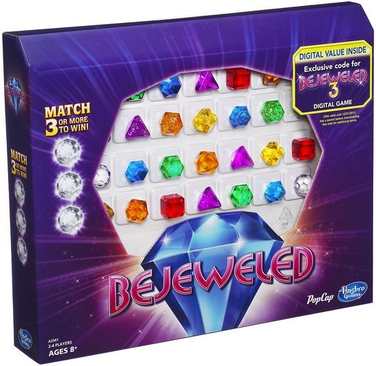 Bejeweled, Hasbro, 2013 (image provided by the publisher)
