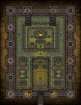 RPG Item: VTT Map Set 132: The Inner Sanctum