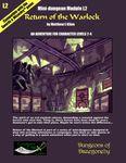 RPG Item: Mini-dungeon Module L2: Return of the Warlock