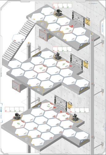 Board Game: Xeno Siege