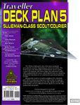 RPG Item: Traveller Deck Plan 5: Sulieman-Class Scout/Courier