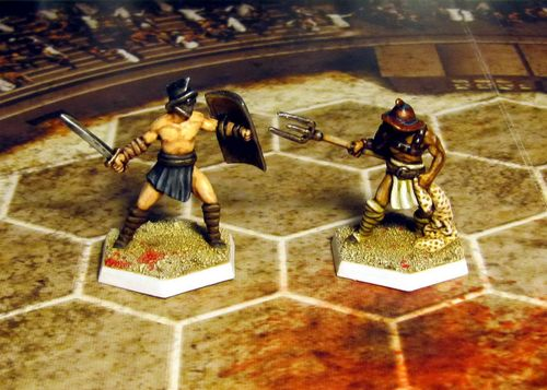Board Game: Spartacus: A Game of Blood and Treachery