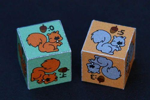 Board Game: Squirrel Squabble