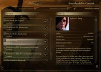 Video Game: Dragon Age: Origins – Leliana's Song