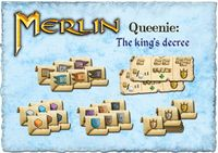 Board Game: Merlin: Queenie 2 – The King's Decree