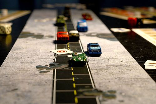Board Game: A Straight Road