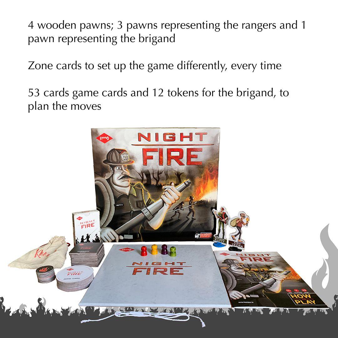 Night Fire board game