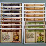 Board Game Accessory: Euphoria: Updated Recruit Cards (16)