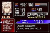 Video Game: Castlevania: Aria of Sorrow