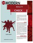 RPG Item: Reality Check