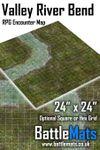 RPG Item: Valley River Bend RPG Encounter Map