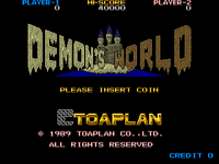 Video Game: Demon's World