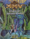 RPG Item: 25CREF1: Character Record Sheets