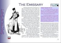 RPG Item: The Emissary