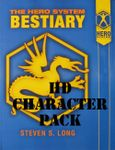 RPG Item: HERO System Bestiary 6th Edition Character Pack (HD Character Pack)