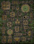 RPG Item: VTT Map Set 129: Forgotten Tomb of the Once Honoured Knights