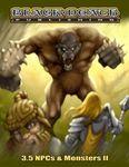 RPG Item: 3.5 NPCs & Monsters II