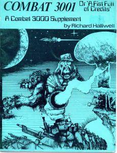 Combat 3001 (or A Fist Full of Credits): A Combat 3000 Supplement Cover Artwork
