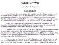 RPG Item: Racial Holy War