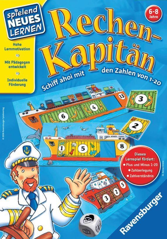 Board Game: Rechen-Kapitän