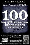 RPG Item: 100 Last Will & Testament Inheritances for all Fantasy RPGs