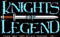 Video Game: Knights of Legend
