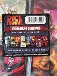 Board Game Accessory: Dice Throne: Premium Sleeves – Dice Throne Heroes: Season Two