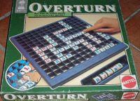 Board Game: Scrabble Overturn