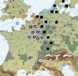 April 1940 - The German invasion of France and the Lowlands is met by a strong allied counter-attack.
