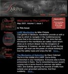 Issue: The LARPer (Volume 1, Issue 1 - May 2001)
