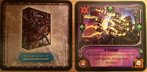 Board Game: New Dawn: U-Cannon