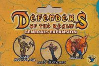 Board Game: Defenders of the Realm: Generals Expansion