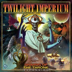 Twilight Imperium: Third Edition – Shards of the Throne Cover Artwork