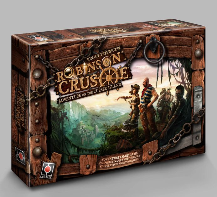 Robinson Crusoe Adventures On The Cursed Island Fourth Edition