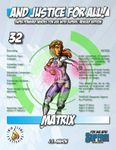 RPG Item: And Justice for All! 32: Matrix