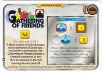 Board Game Accessory: Terraforming Mars: Gathering of Friends Promo Card